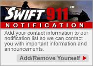 Swift911 Notification Information