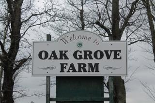 Oak Grove Farm Sign